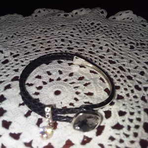 Black rope bracelet